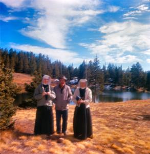 Nuns at Alpine Lake